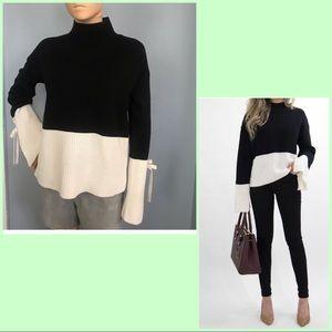NWOT UK Primark Black & White Sweater!